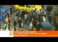 Protest against Aljazeera Leaks in Ramallah; US Dictated Leadership to Palestinians