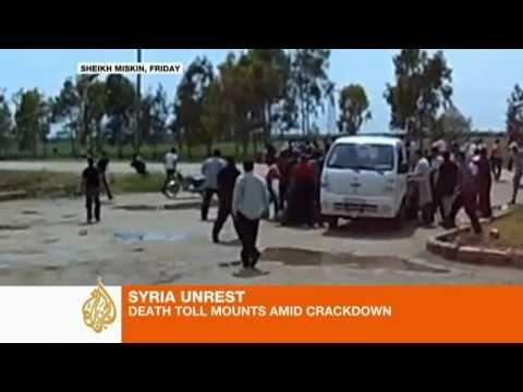 Protesters Brave Live Crackdowns in Syria, Yemen, Bahrain, Saudi Arabia