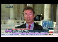 "Sen. Rand Paul:  Snowden's 'Civil Disobedience' seeks ""to defend the Fourth Amendment"""