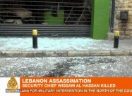 Some blame Syria's al-Assad for Bombing in Christian Beirut that Kills Top Lebanese Security Official