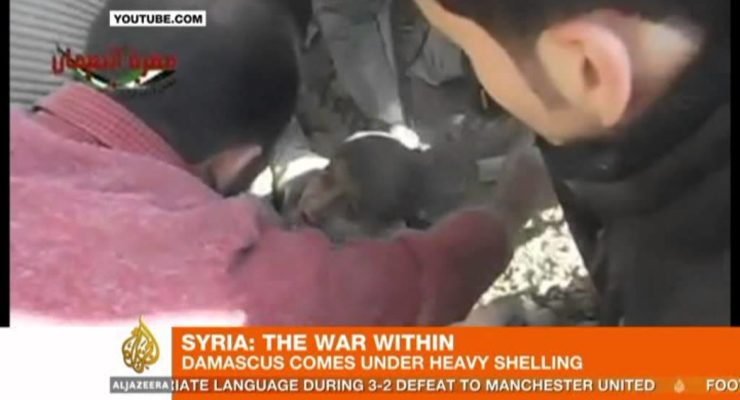 Syrian Regime flies 60 bombing Raids against Rebel City Quarters