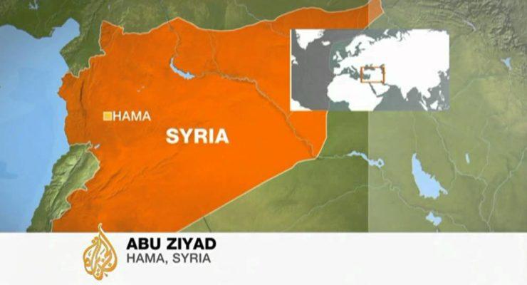 Syrian Tanks enter Hama