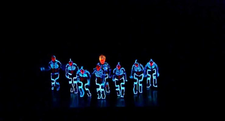 Tron Dance from Japan: Homage to to the Modern Body