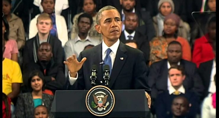 Obama at Soweto University: New Generation of Africans taking its Place on World Stage