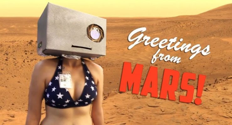 """We're NASA and We Know It"" (Music Video on Curiosity Mars Landing)"
