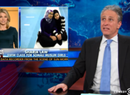 Jon Stewart:  Fox seems a little Hysterical about Muslim-American Women Swimming