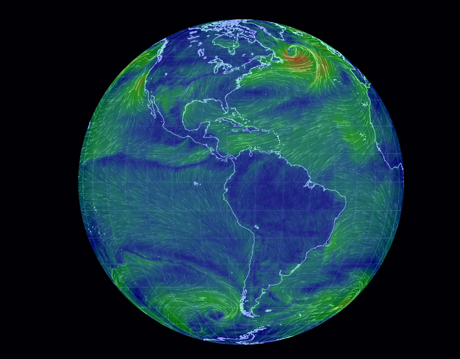 Real Time Earth Wind Map Informed Comment - Real time maps google earth