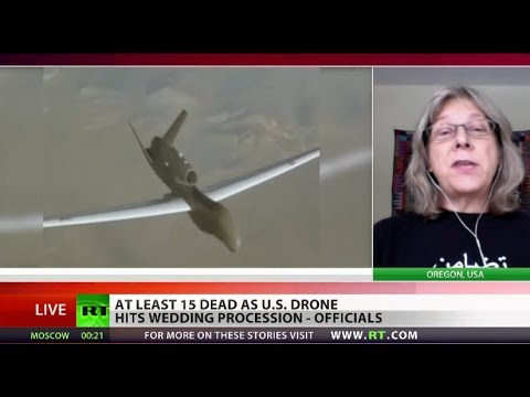 How many American Weddings would have to get hit by Drones before they were Banned?