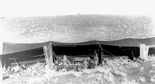 Photo of the Day: Palestinian Bedouin outside Jerusalem, 1930