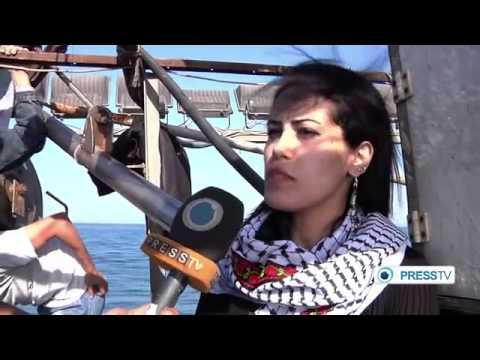 Israeli Blockade of 40,000 Gaza Fishermen Briefly Broken by Youth Protesters