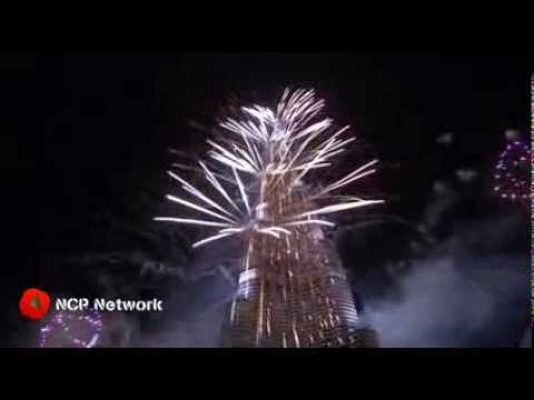 Dubai Fireworks for New Year 2014