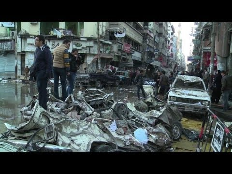 The Iraqization of Egypt: Two Large Bombs Rock Security Bldg in Mansoura, kill 14, wound 130