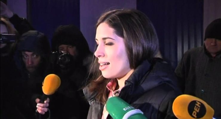 Freed Pussy Riot Band Members call for 'Russia without Putin'  (Video of the Day)
