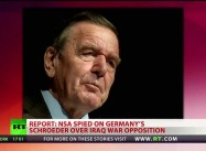 Bush ordered NSA to spy on Germany's Chancellor Schroeder