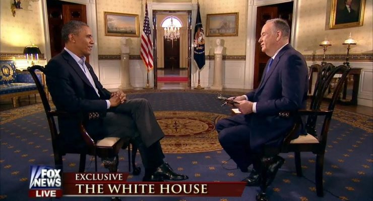 The Cheapening of American Politics:  Why did Obama reward O'Reilly with an Interview?