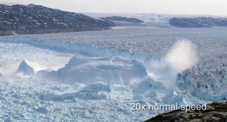 Global Warming has made Greenland Ice Sheet unstable, increasing Sea Rise (Plus Spectacular Video)