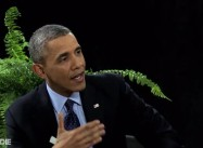 "President Obama zings Zach Galifianakis on ""Between Two Ferns"""