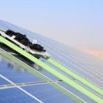 Israeli Kibbutz uses Robots To Combat Desert Dust that obscures Solar Panels