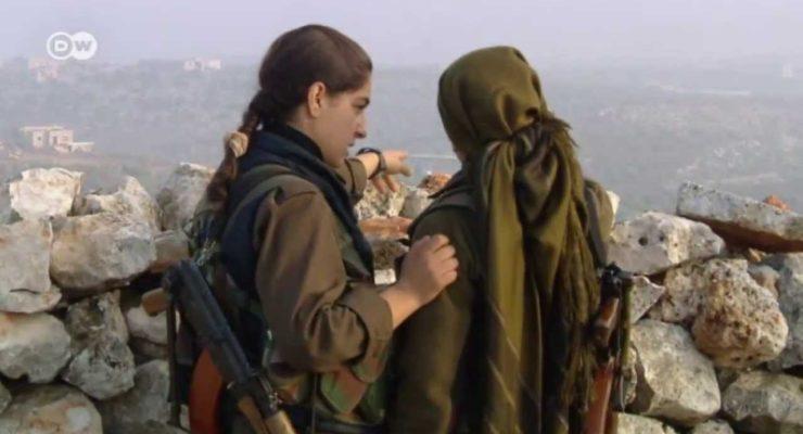 Syria:  Kurdish Women Soldiers take on Extremist Jihadis