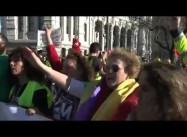 Tahrir in Madrid:  Tens of Thousands Demonstrate in Spain against Unemployment