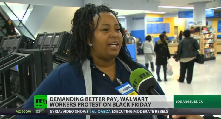 Walmart Admits that its Business Model Requires Employees to Depend on Food Stamps