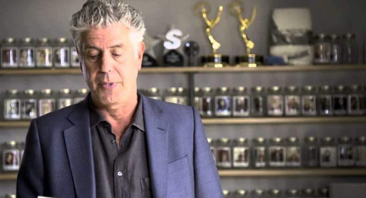 """Anthony Bourdain on Palestinians:  """"The World has visited many terrible things on"""" them, robbed of their Humanity"""