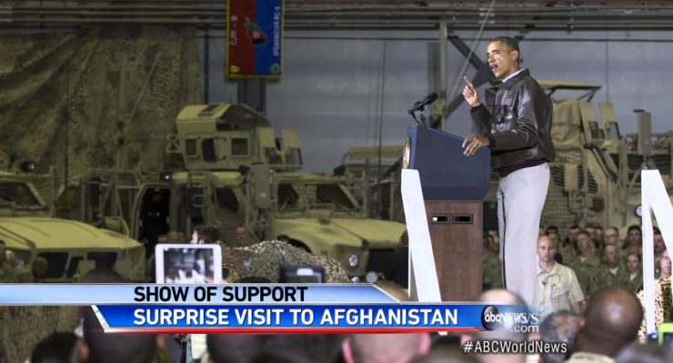 Did a Karzai No-Show Spoil Obama's announcement of end of Afghanistan War?