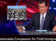 "The Colbert Report: ""Questionable Compassion for Child Immigrants"""