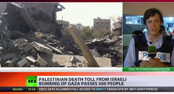 On 'Human Shielding' in Gaza: The Israeli army has tried to justify striking civilian areas