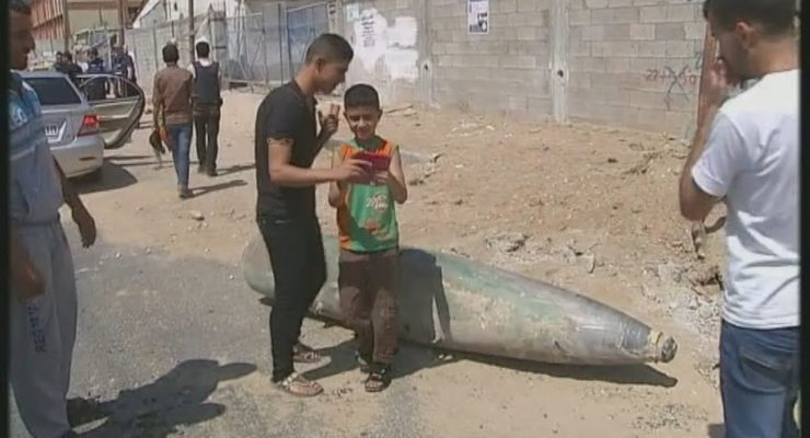 Gaza:  Khuzaa district Flattened, Evidence of Israeli Atrocities