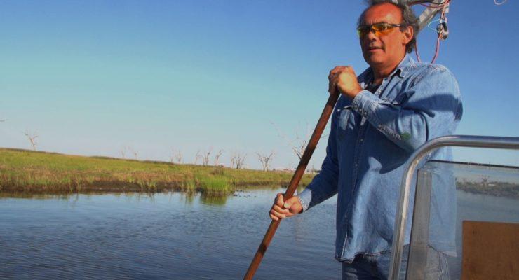Global Warming & Louisiana Bayou:  Native Lands Submerged as Sea Levels Rise