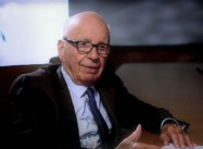 """Move a little Inland:""  Press Lord Cranky Billionaire Rupert Murdoch on what to do about Global Warming"