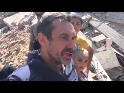 """The Battered People of Gaza:  """"We're not Abandoning the Resistance & No Peace until the Blockade is Lifted"""""""