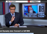 Duck Dynasty star to Hannity: Convert or kill ISIS  (Chris Hayes)