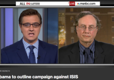 """""""Obama to outline campaign against ISIS"""" (Juan Cole at Chris Hayes, """"All In"""")"""
