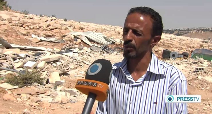 Palestinian family forced to demolish own house in Jerusalem