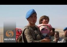 Turkey takes in 60,000 Syrian Kurdish Refugees as ISIL attacks their Villages