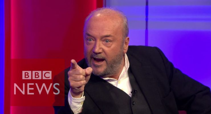 'You killed a million people in Iraq' George Galloway tells Blair Cabinet Member