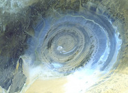 NASA Photo of Sahara:  Richat Structure, Mauritania