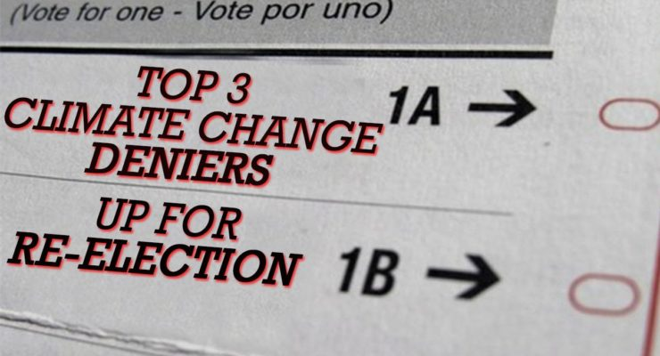 """""""Don't Send these Climate Denying Poll-Cats back to Congress: Send them back to Science Class"""" – Jesse Ventura"""