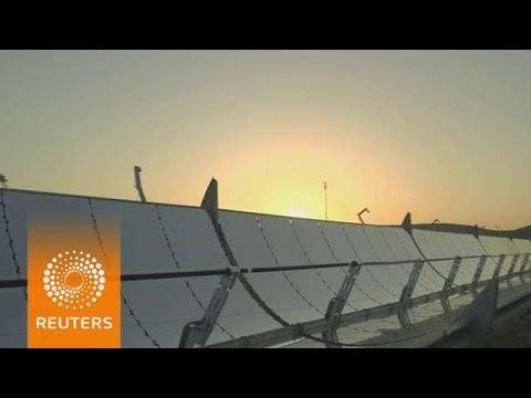 Israeli firm looks to keep solar power generators running at night
