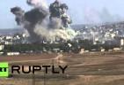 Kobane Kurds fight off ISIL Assault, as Shells land in Turkey