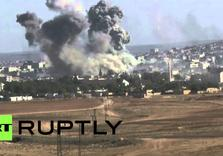 Kobane Kurds fight off ISIL Assault, as Shells land in Turkey