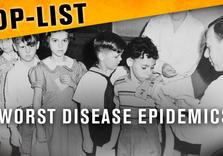 Top Five Worst Disease Epidemics (Historical Footage)