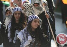 Thousands march in Bethlehem to mark Palestine Independence Day