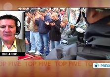8 Israeli Forces open fire on Palestinian Qalandia Demonstrators, Wounding 8