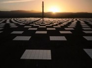 Crescent Dunes NV solar Plant Works Day & Night w/ Molten Salt Storage