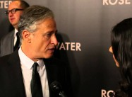 Jon Stewart Talks Press Freedom at Rosewater Premiere