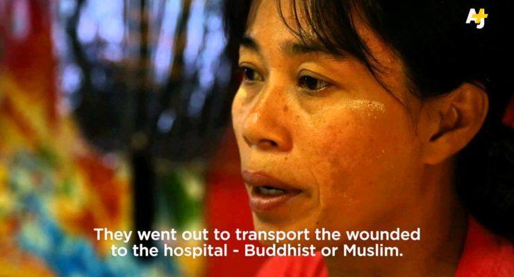 Militant Buddhist Monks stir attacks on innocent Muslims in Myanmar