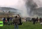 Israeli Squatter Fires on Palestinian Demonstrators near Bethlehem